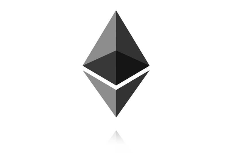Ethereum koers logo